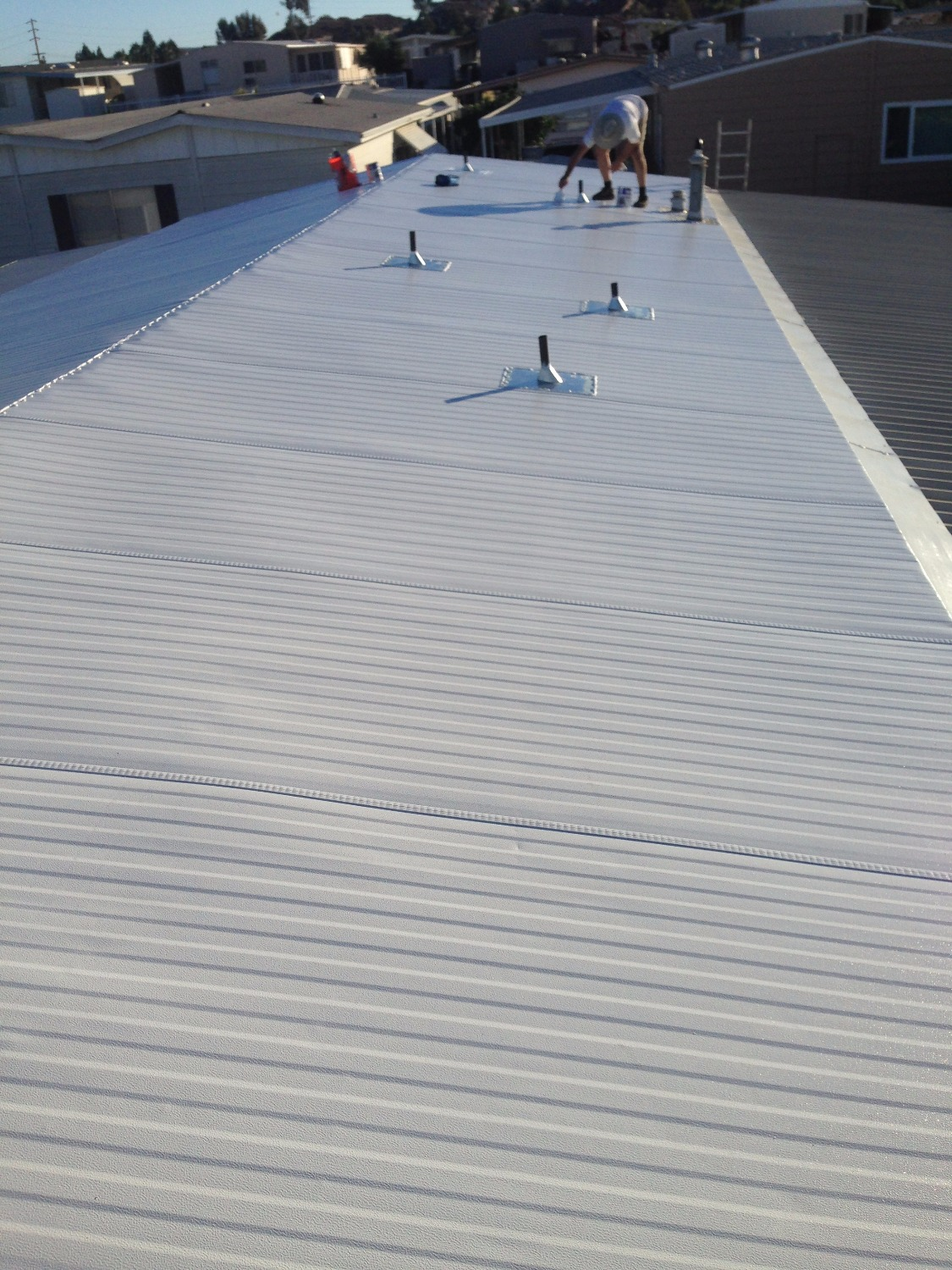 New Insulated Aluminum Roof