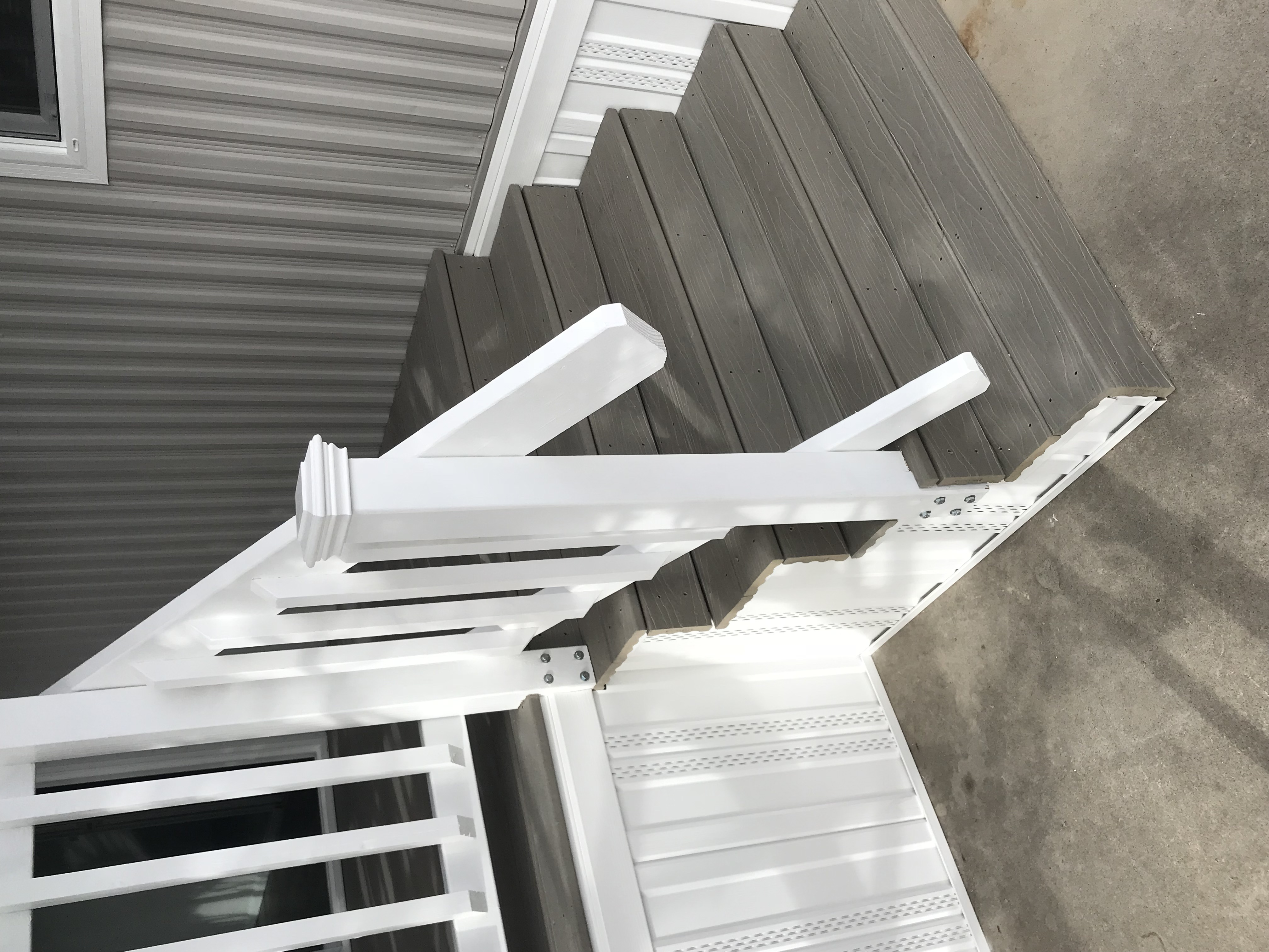 Composite Deck and Steps