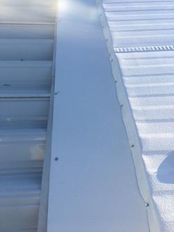 New Insulated Aluminum Roof