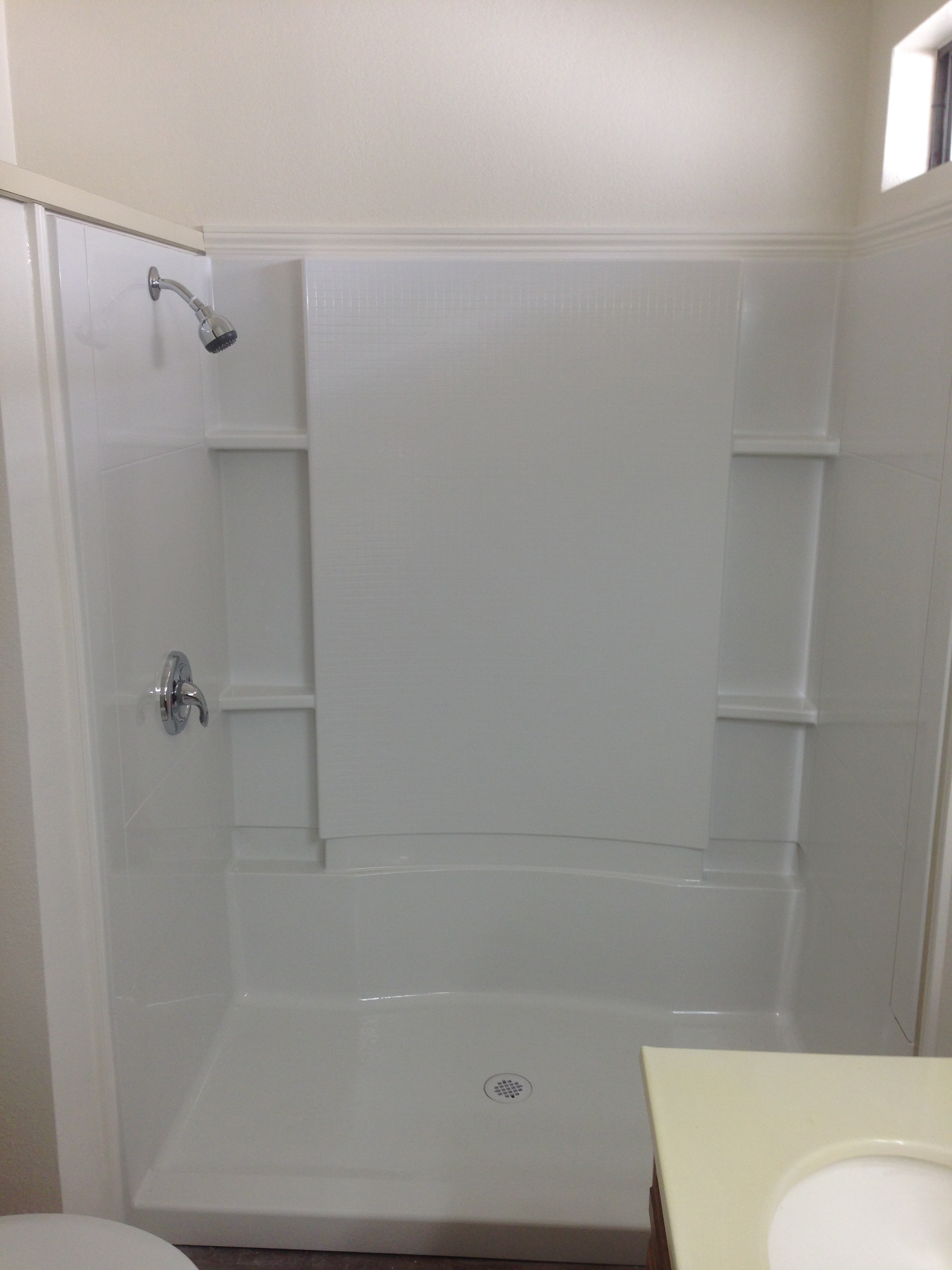 NEW SHOWERS & TUBS