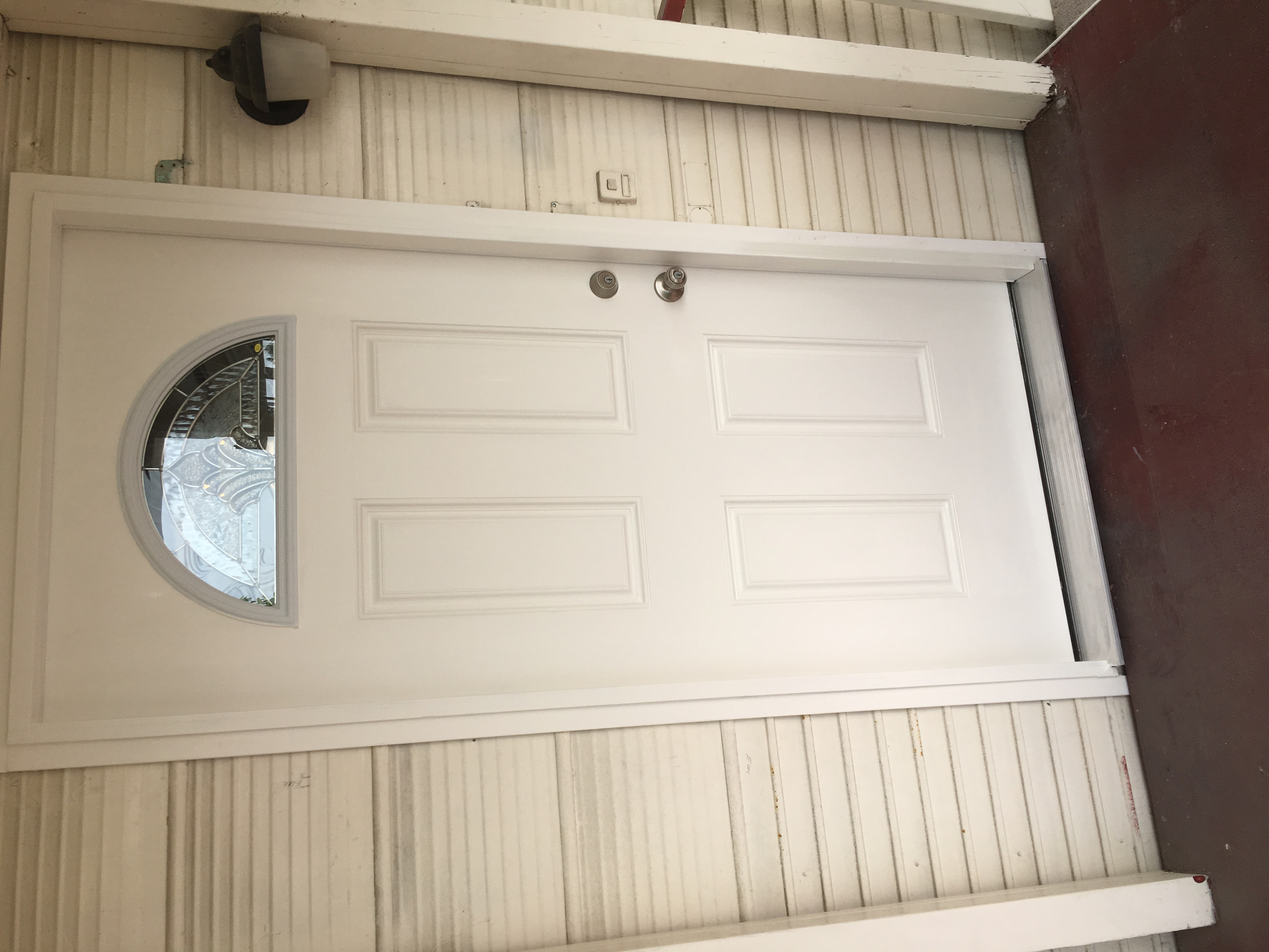 Mobile Home Door