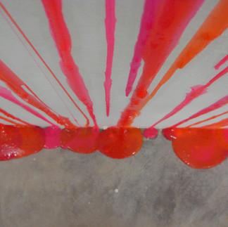 Sem título, 2012 (detalhe) amoeba sobre parede dimensões variáveis