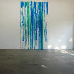 Sem título, 2012  amoeba sobre parede dimensões variáveis