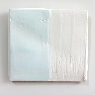 Sem  título, 2016 Encáustica sobre gesso. 14x15x1cm