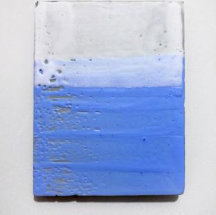 Sem título, 2016 Encáustica sobre cimento 14x19cm
