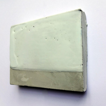Sem  título, 2016 Encáustica sobre cimento. 11x14x1cm