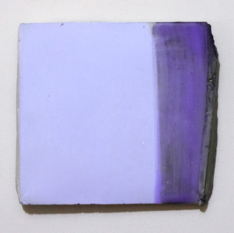 Sem título, 2016 Encáustica e tinta acrílica sobre cimento. 14x15cm
