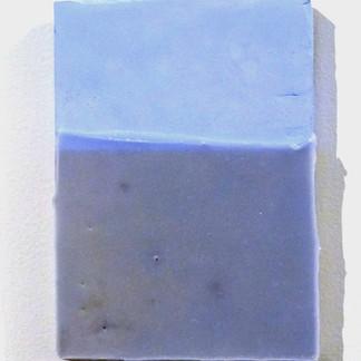 Sem título, 2016. Tinta polivinílica e parafina sobre cimento. 30x20x4cm