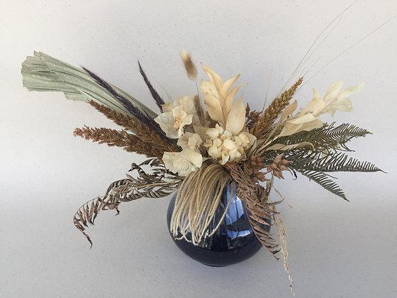 Arranjo com Flores Secas - P