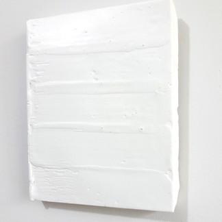 Sem  título, 2016 Encáustica sobre gesso. 14x11x1cm