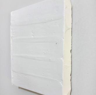 Sem título, 2016 Encáustica sobre gesso 10x15cm