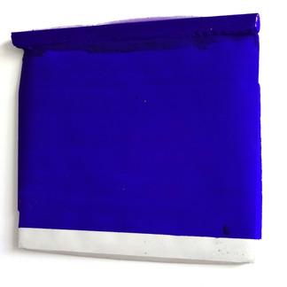Sem  título, 2016 Tinta acrílica e resina sobre cimento. 16,5x19,1cm
