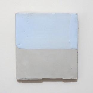 Sem título, 2016 Encáustica sobre cimento 10x15cm