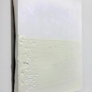 Sem título, 2016 Encáustica sobre cimento. 14,5x18x1 cm
