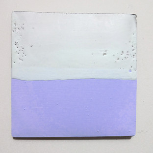 Sem título, 2016 Encáustica sobre cimento 14x15cm