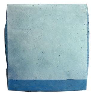 Sem título, 2017 Pigmento em pós sobre cimento pigmentado. 60x45x5cm