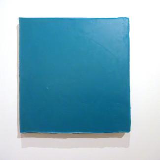Sem título, 2016. Encáustica sobre cimento. 45x45x5cm