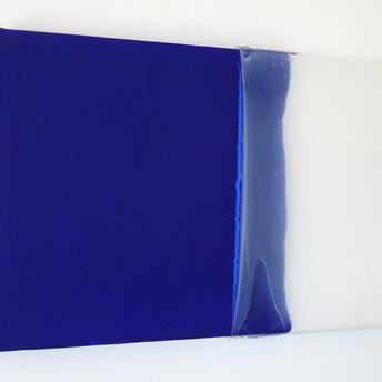 Sem titulo XVII, 2015 Tinta acrílica e silicone sobre tela. 30x20cm