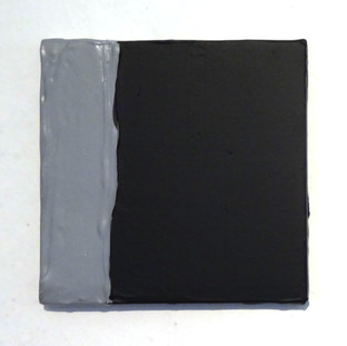 Sem título LXV, 2015 Tinta serigráfica sobre tela. 20x20cm