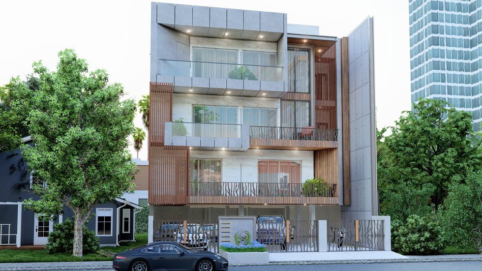 Modern Contemporary Home Gurugram by Dream space.