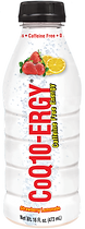 CoQ10-ERGY Strawberry Lemonade 16 Ounce Wate