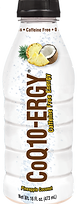 CoQ10-ERGY Pineapple Coconut 16 Ounce Water