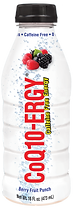 CoQ10-ERGY Berry Fruit Punch 16 ounc Water