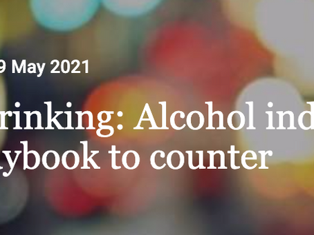 Thank you for drinking: Alcohol industry uses tobacco playbook to counter lockdown bans