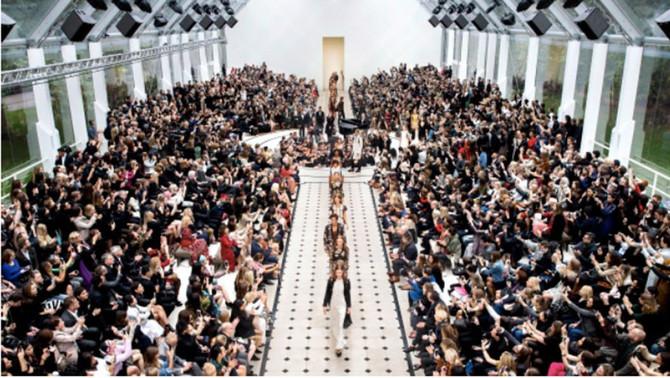 The idea of combine menswear and womenswear