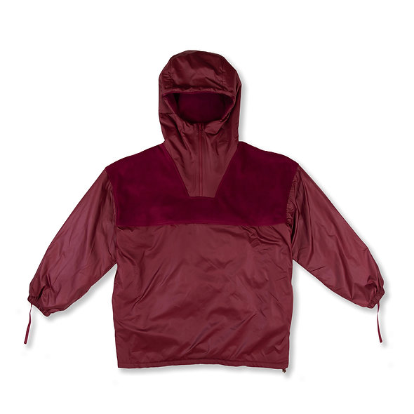 MAROON FLEECE PULLOVER