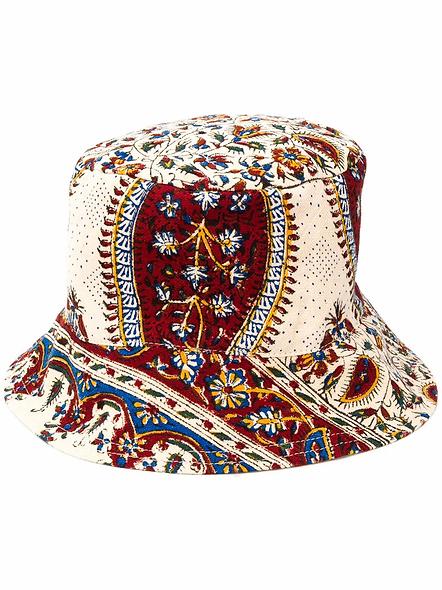 IRANIAN PRINT BUCKET HAT