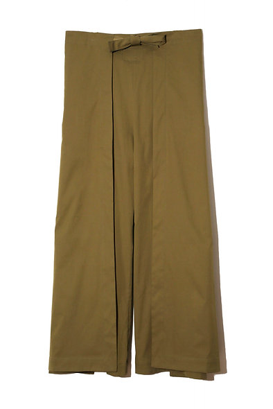 ANTONIO WRAP TROUSER