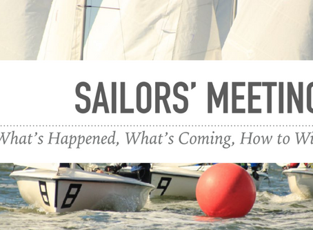 PRE SEASON SAILING MEETING