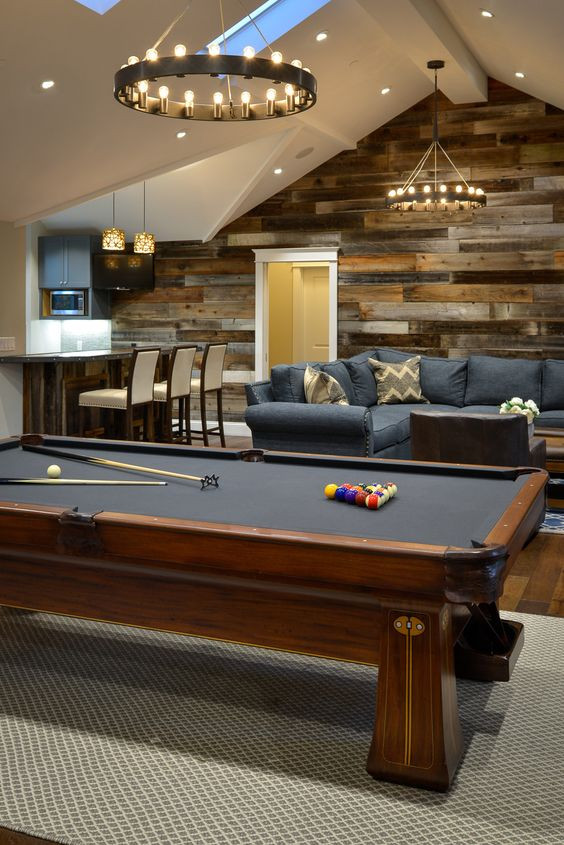 Basement Decor