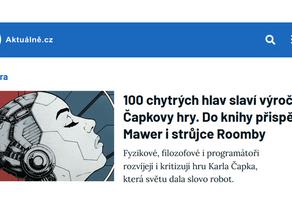 100 chytrých hlav slaví výročí Čapkovy hry