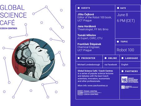 Invitation 8.6.2021: Global ScienceCafé