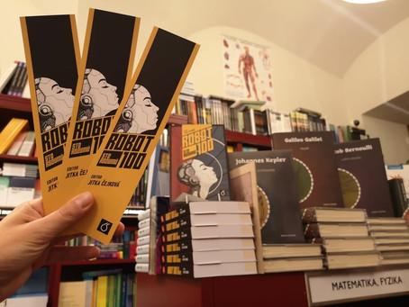 Kniha Robot100: Sto rozumů v pražských knihkupectvích