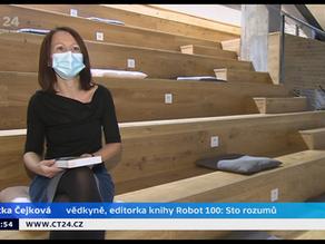 Robot 100 v České televizi