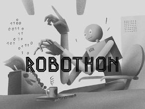 Hackni stroj a oslav 100 let robota
