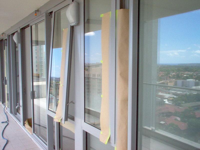 Window Spray Painting Sydney Window Rest