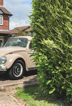 VW Beetle Wedding Car Hire