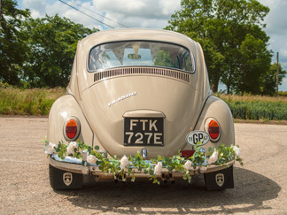 Vintage wedding car hire in Hertfordshire, Cambridgeshire & Bedfordshire