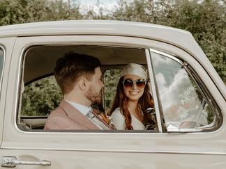 Vintage Wedding Car Hertfordshire, Cambridgeshire & Bedfordshire - Ellen Sear Photography