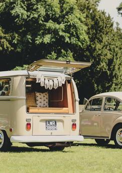 Campervan & Beetle Wedding Car