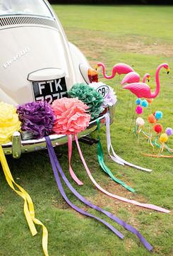 Colourful wedding car.jpg