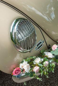 Beautiful Wedding Car Garland