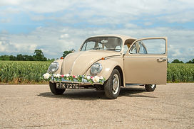 Vintage Wedding Beetle Car Hire