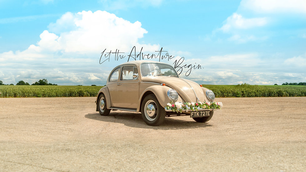 Vintage VW Wedding Car in Hertfordshire, Cambridgeshire & Bedfordshire