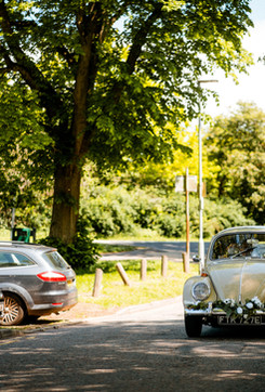 Classic VW Beetle Wedding car Hertfordshire - Photo by Paul Rogers