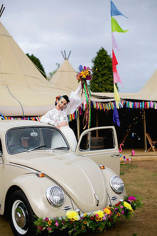 Festival Wedding car